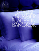 Stylish summer places in Bangkok - In Residence Magazine - Apr 2012